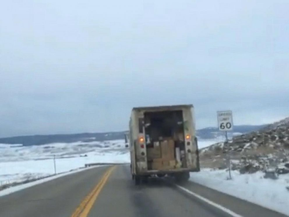 & whas11.com | Colorado family chases FedEx truck spilling packages