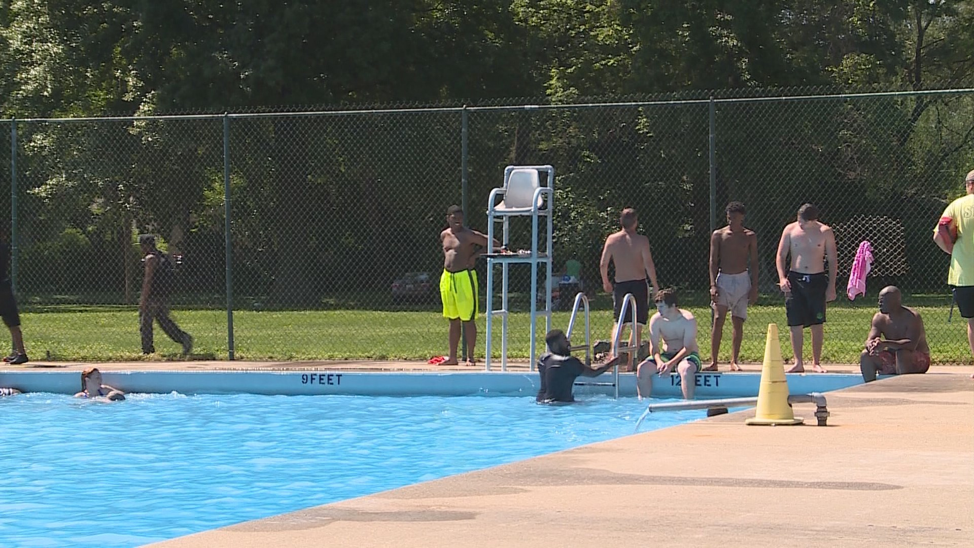 Algonquin Pool Open For Business This Summer